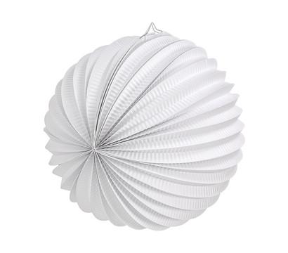 Papier-Lampions, weiß, 3er-Set