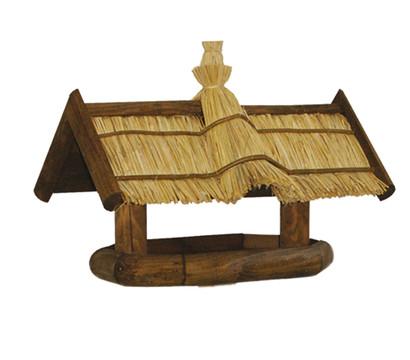 patkar vogelhaus mit strohdach dehner garten center. Black Bedroom Furniture Sets. Home Design Ideas
