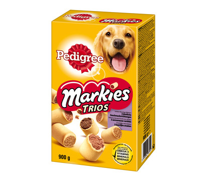 Pedigree® Markies Trios, Hundesnack, 900g