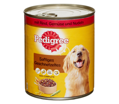 Pedigree® Saftiges Geschnetzeltes, Nassfutter