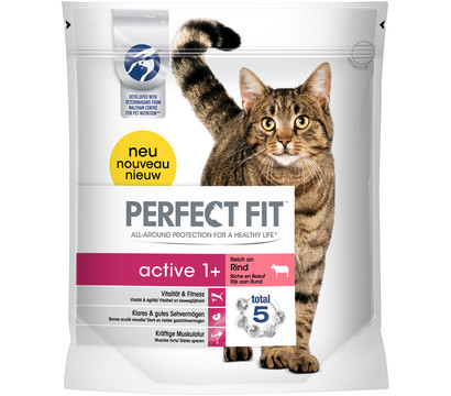 Perfect Fit® Trockenfutter Active 1+ Rind