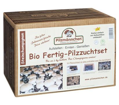 Pilzmännchen Bio Pilzzuchtset Steinchampignon