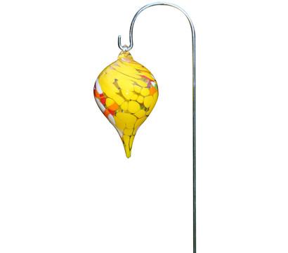 Polczer Glas-Minizwiebel mit Stab, Ø 10 x 65 cm