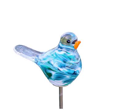 Polczer Glas-Vogel mit Stab