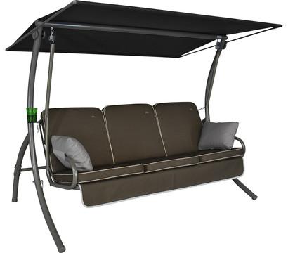 Primero Style Hollywoodschaukel Taupe, 3-Sitzer: Dehner ...
