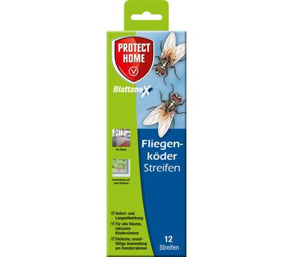 PROTECT HOME Blattanex Fliegenköder Streifen, 12 Stück