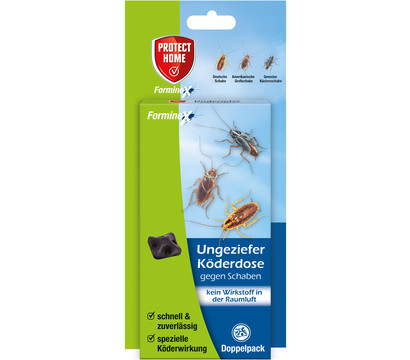PROTECT HOME Forminex Ungeziefer Köderdose gegen Schaben, 2 Stück