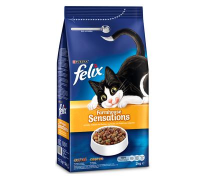 PURINA felix® Trockenfutter Sensations, 2kg