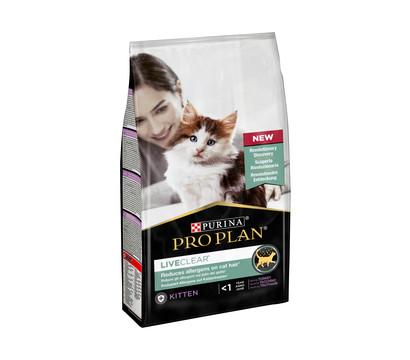 PURINA® PRO PLAN® LIVECLEAR® Trockenfutter Kitten