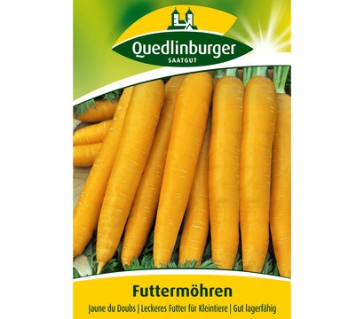 Quedlinburger Samen Futtermöhre 'Jaune du Doubs'