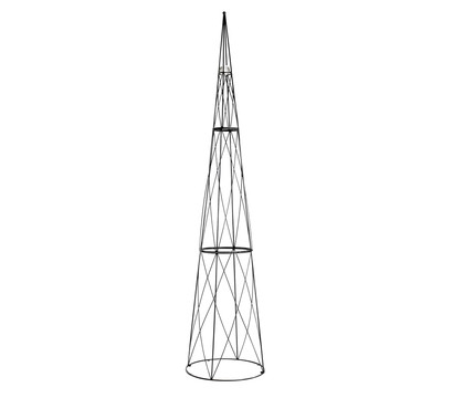 rankhilfe obelisk mit glaskugel 2 7 m dehner garten center. Black Bedroom Furniture Sets. Home Design Ideas