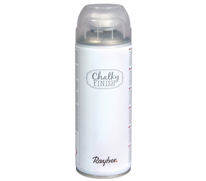 Rayher Chalky Finish Spray, weiß, 400 ml
