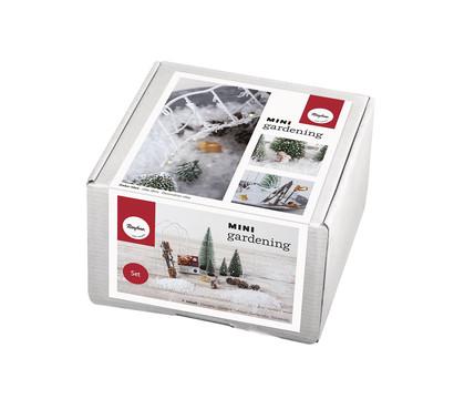 Rayher Mini-Gardening-Set Snowfeeling, 16-teilig