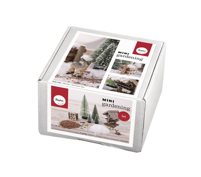 Rayher Mini-Gardening-Set Winterdream, 13-teilig