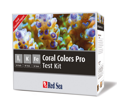 Red Sea Coral Colors Pro Testset