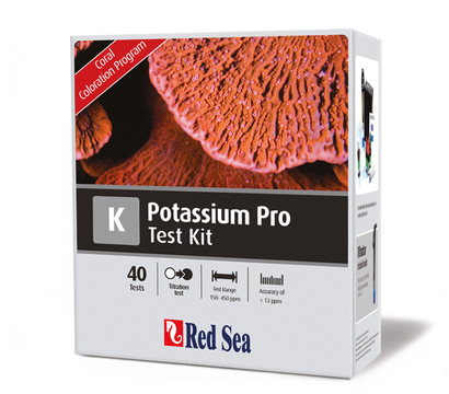 Red Sea Kalium Pro Testset, 40 Tests