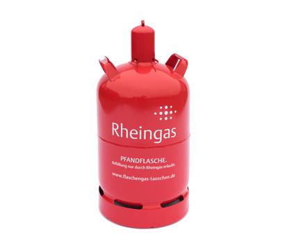 Rheingas Gasflasche, rot, 11 kg Füllung