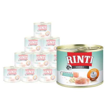 Rinti Sensible Adult, Nassfutter, 12 x 185g