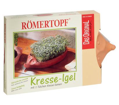 Römertopf Kresseigel mit Kresse-Saatgut