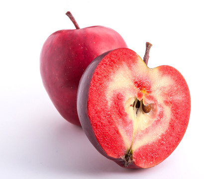Rotfleischiger Apfel 'Red Devil'