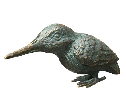 Rottenecker Bronze-Eisvogel, 12 x 5 x 7,5 cm