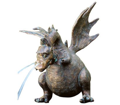 Rottenecker Bronze-Figur Drusilla, wasserspeiend