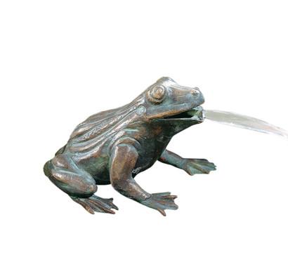 Rottenecker Bronzefigur Frosch