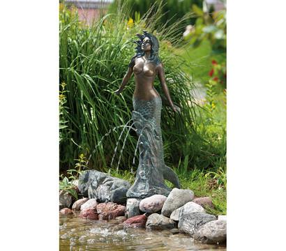Rottenecker Bronzefigur Meerjungfrau Meduna