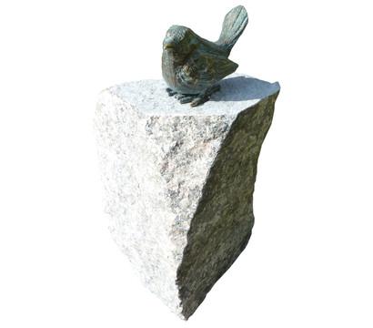 Rottenecker bronzefigur vogel auf stele dehner garten center for Nostalgische gartendekoration