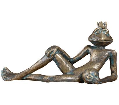 Rottenecker Bronze-Froschkönig Eugen, 15,5 x 5,5 x 7,5 cm