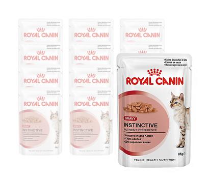 royal canin instinctive nassfutter 12 x 85g dehner garten center. Black Bedroom Furniture Sets. Home Design Ideas
