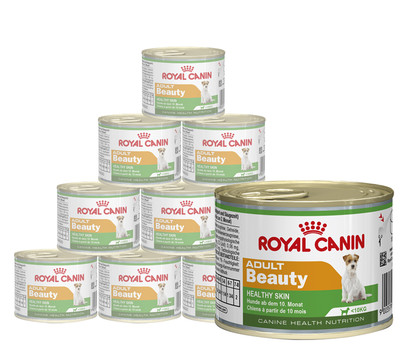 ROYAL CANIN® Nassfutter Adult Beauty, 12 x 195g