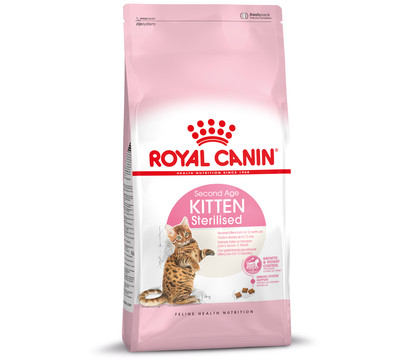 Royal Canin Trockenfutter Second Age Sterilised Kitten