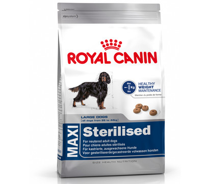 Royal Canin Trockenfutter Sterilised Maxi