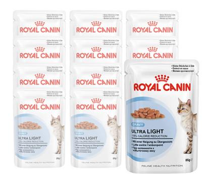royal canin ultra light nassfutter 12x85g dehner garten. Black Bedroom Furniture Sets. Home Design Ideas
