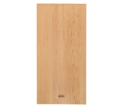 Rösle Aroma-Planke Zedernholz, 2 Stück, 1,2 x 19,5 x 40 cm