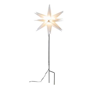 Saico 3er-Set LED-Stern Ø 35 cm, warmweiß