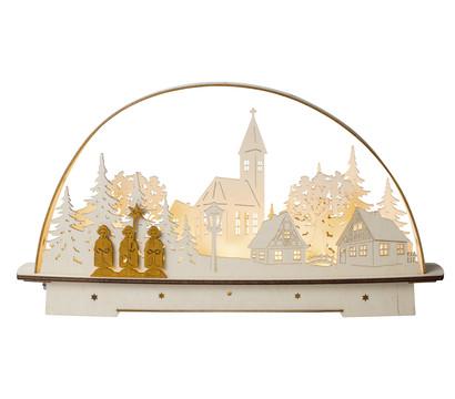 Saico LED-Lichterbogen Sternsinger, warmweiß