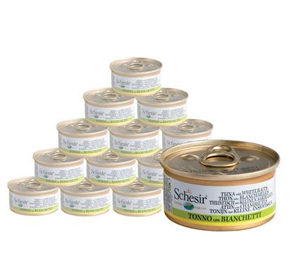 Schesir® Nassfutter Thunfischvariationen in Brühe, 14 x 70g