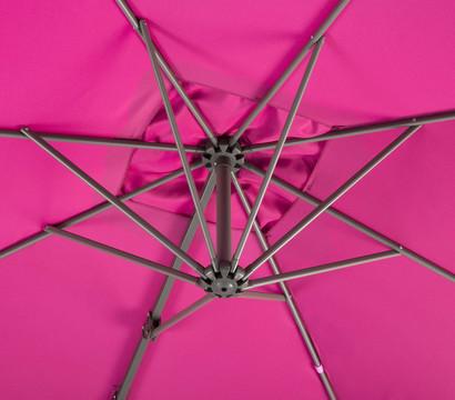 schneider ampelschirm rhodos junior 270 x 270 cm dehner garten center. Black Bedroom Furniture Sets. Home Design Ideas