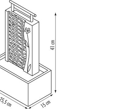 seliger zimmerbrunnen guo schiefer dehner garten center. Black Bedroom Furniture Sets. Home Design Ideas