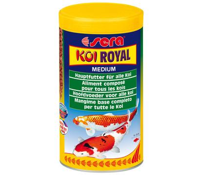 sera KOI Royal Medium, Teichfischfutter