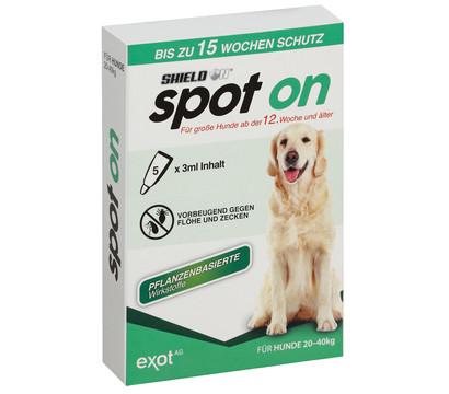 SHIELD N® Zeckenschutz Spot On für große Hunde, 5 x 3ml