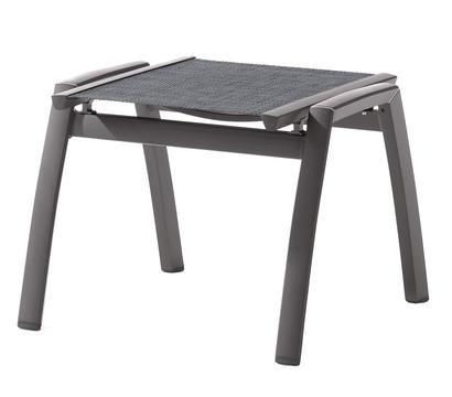 sieger trento hocker aluminium textilux 55x58x43 cm dehner garten center. Black Bedroom Furniture Sets. Home Design Ideas