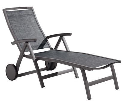 sieger trento klapprollliege aluminium textilux 192x79x102 cm dehner garten center. Black Bedroom Furniture Sets. Home Design Ideas