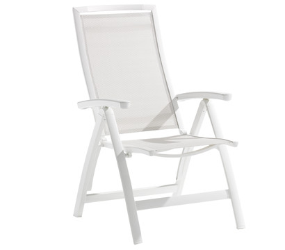 sieger trento klappsessel aluminium textilux 74x64x113 cm dehner garten center. Black Bedroom Furniture Sets. Home Design Ideas