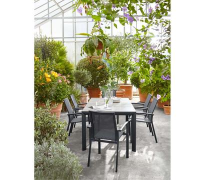siena garden aluminium dining sessel velia dehner garten center. Black Bedroom Furniture Sets. Home Design Ideas