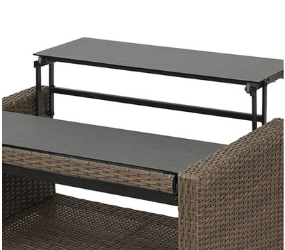 siena garden klapptisch teramo ca 100 x 65 108 x 45 65 cm dehner garten center. Black Bedroom Furniture Sets. Home Design Ideas