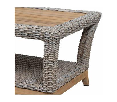 siena garden tisch almada 60 x 110 x 45 cm oak grey dehner garten center. Black Bedroom Furniture Sets. Home Design Ideas