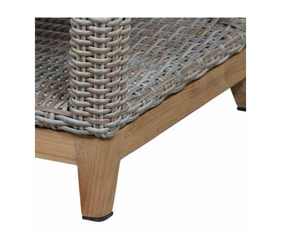 siena garden tisch almada 60x110x45 oak grey dehner garten center. Black Bedroom Furniture Sets. Home Design Ideas